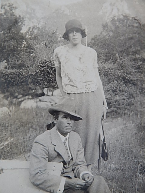 Dora Toovey and James R Jackson in Europe 1927